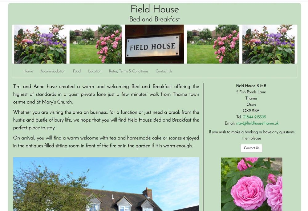 Field House Bed and Breakfast